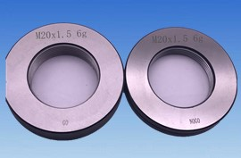 M130 x 2 thread ring gage