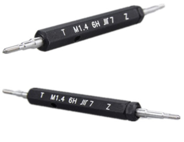 M16x1 thread plug gage 6H GO NOGO 100/% calibrated ship by Fedex Delivery in 4 days